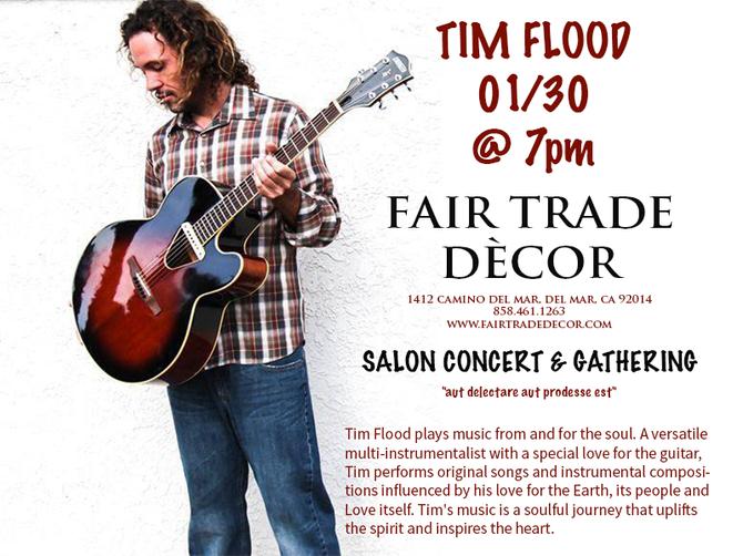 Tim Flood begins the Salon Concert Series in Del Mar