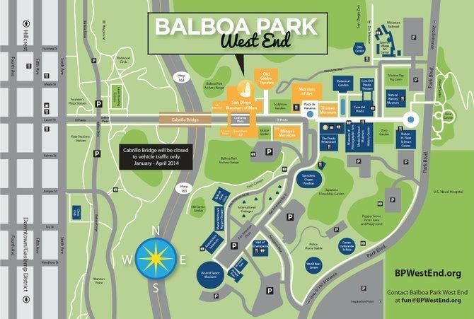 Balboa Park Map