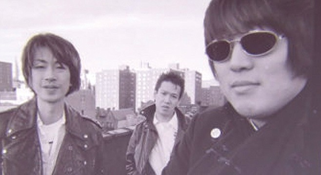 Kyoto noiseniks Ultra Bide provide this year's garage-punk DNA at Til-Two on Friday.