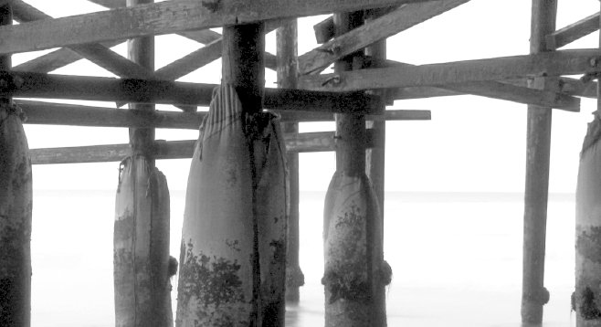 Under the Crystal Pier, Pacific Beach