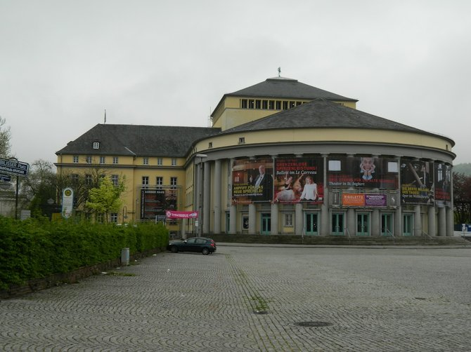 The Saarland State Theater.