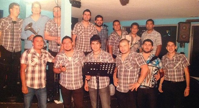 American banda Estrella de Pacifico sings some songs about  Mexican thug life — with that fun polka beat.