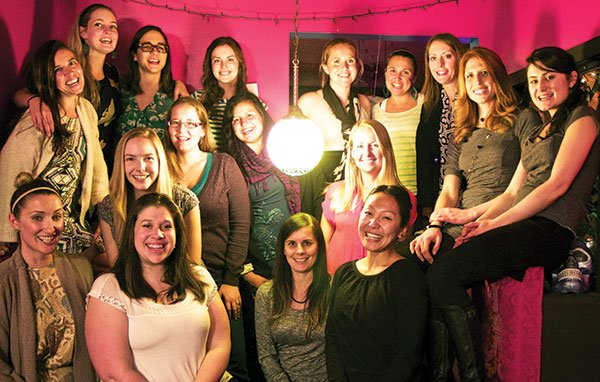 The San Diego Ladies Vegan Cooking Club celebrates their first anniversary.