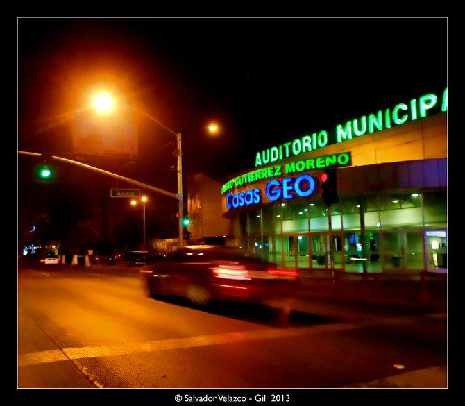 Neighborhood Photos TIJUANA,MEXICO Boulevard Agua Caliente at night in Tijuana/ Blvd. Agua Caliente de noche en Tijuana