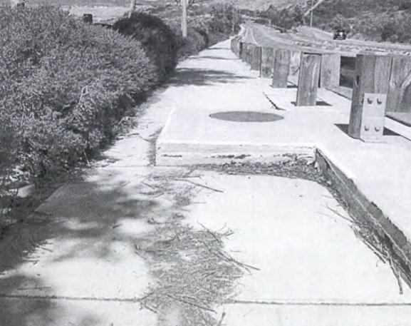 Image of sidewalk taken from lawsuit exhibit