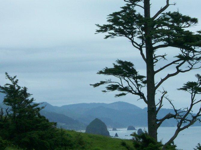 Coastal Oregon near Seaside is a beautiful, scenic place.