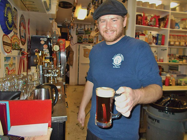 """The hot beer with cinnamon stick was the """"First real new thing"""" Ed had done in a while."""