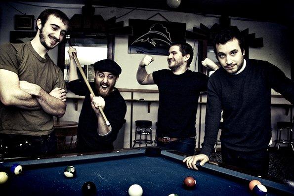 Rust-belt punks the Menzingers play Ché Café on Thursday.