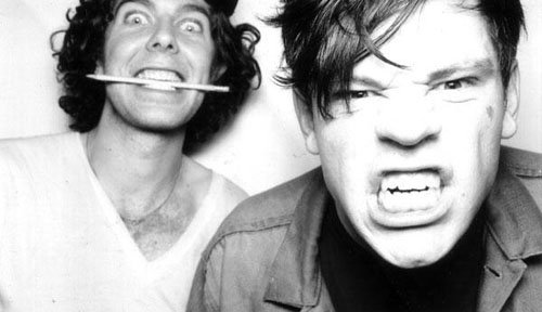 After the big game: Soda Bar stages New York noise-rock duo Japanther.