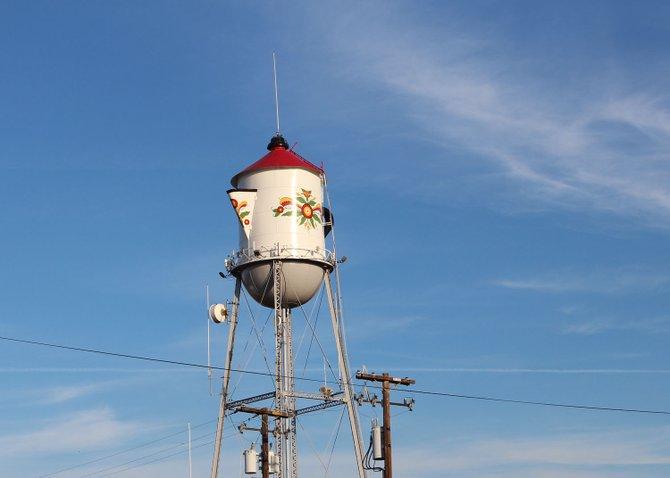 Swedish Village in Kingsburg, CA. The Swedish teacup.