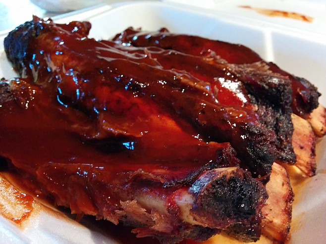 "Beef ""jerky,"" er...I mean...ribs!"