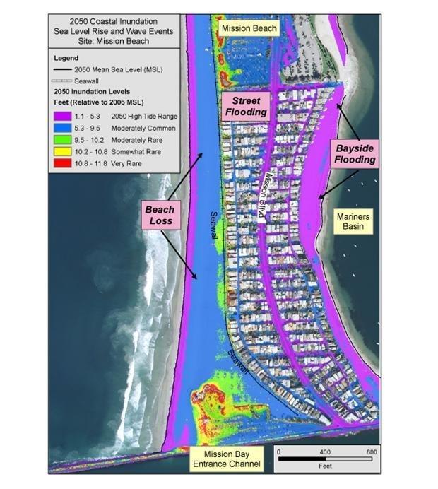 King Tides A Harbinger Of Sea Level Rise San Diego Reader