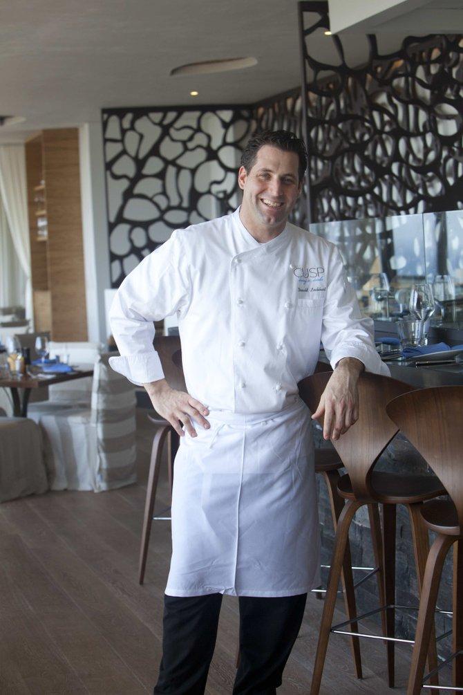 Donald Lockhart, executive chef of Cusp restaurant in La Jolla