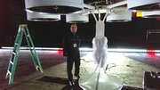"Gus Calderon created Volantis, a ""flying dress,"" for Lady Gaga."