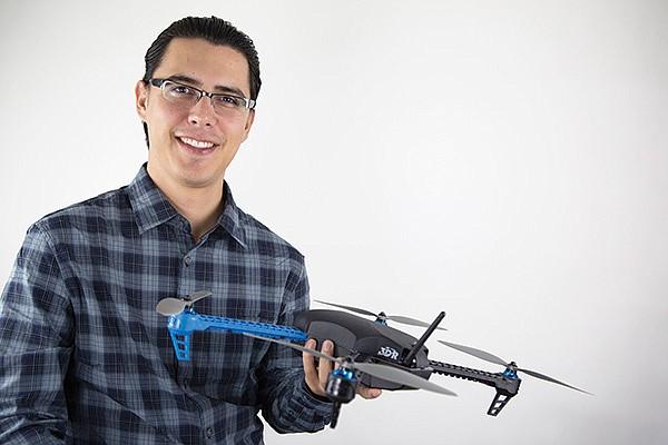 "Jordi Muñoz's 3D Robotics sells products to dozens of countries. ""We're worldwide neutral."""