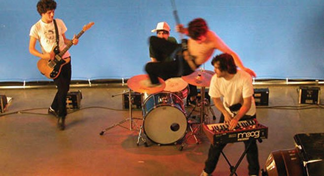 Barcelona band Delorean pulls their stainless-steel dance-rock act into Casbah on Thursday.