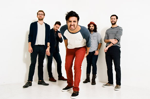 If O.C. alt-rockers Young the Giant battled Imagine Dragons, who would win? The Giant stomps into Soma Sunday night.