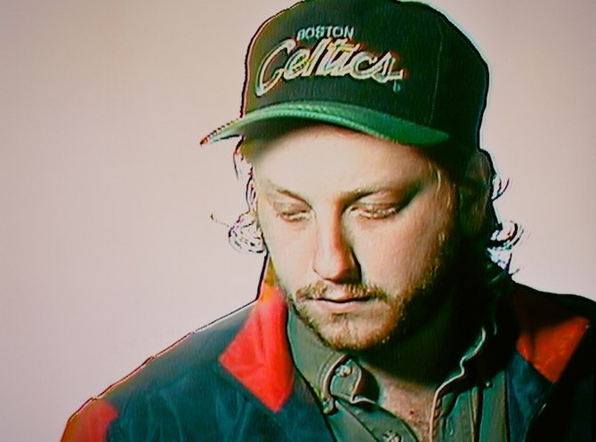Electronic experimentalist Oneohtrix Point Never plugs in at Irenic on Saturday.
