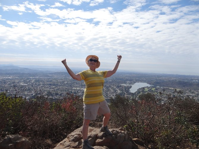 On Top Of The World - Cowles Mt