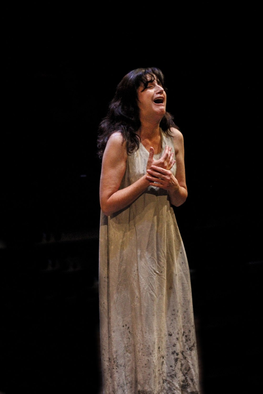 Sandy Campbell as Lady Macbeth