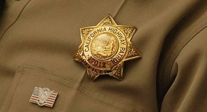 CHP officer said the man gave him a false ID.