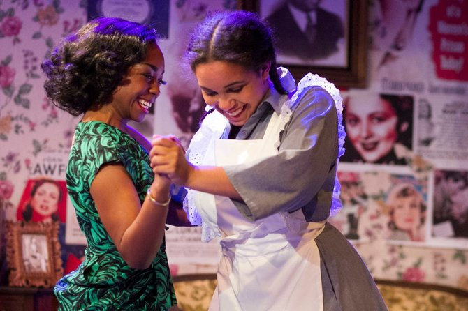 Cashae Monya and Jada Temple in Crumbs from the Table of Joy
