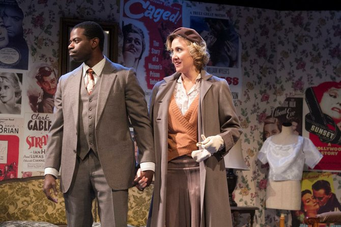 Vimel Sephus and Jennifer Eve Thorn in Crumbs from the Table of Joy