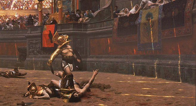 Gladiator shows distracted Romans from political corruption. The National Football League does the same.
