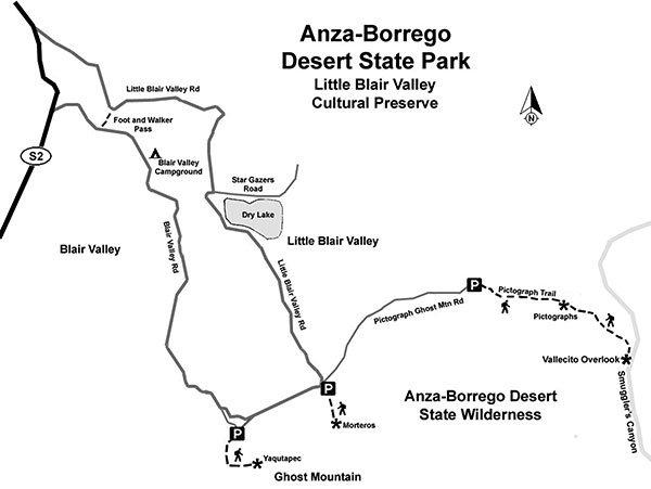Morteros Trail AnzaBorrego Desert State Park San Diego Reader