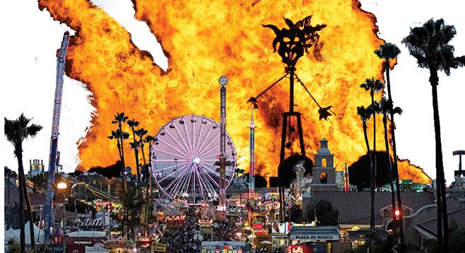 Fair officials from Modoc County in far northeastern California secured $100,000 from the Del Mar Fair Board to create Burning Man tourism sites.