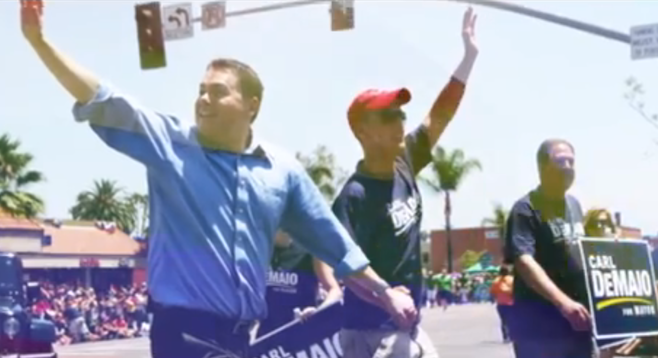 Image from DeMaio new ad