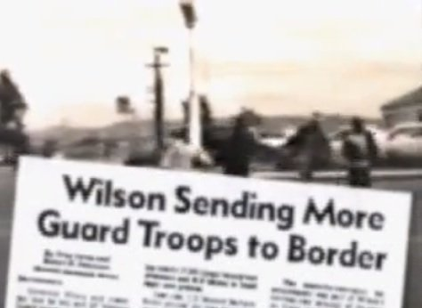 Image from 1994 Pete Wilson campaign ad on illegal immigration