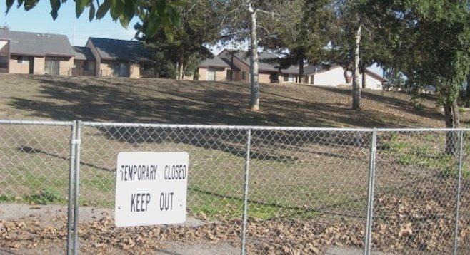 Slope area planned for elimination