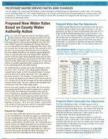 Water will cost residents more than industry in 2015...