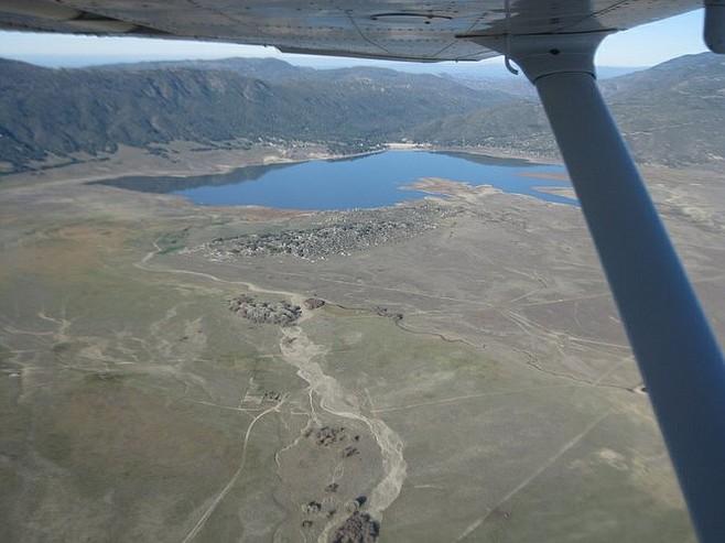 Lake Henshaw, near Warner Springs