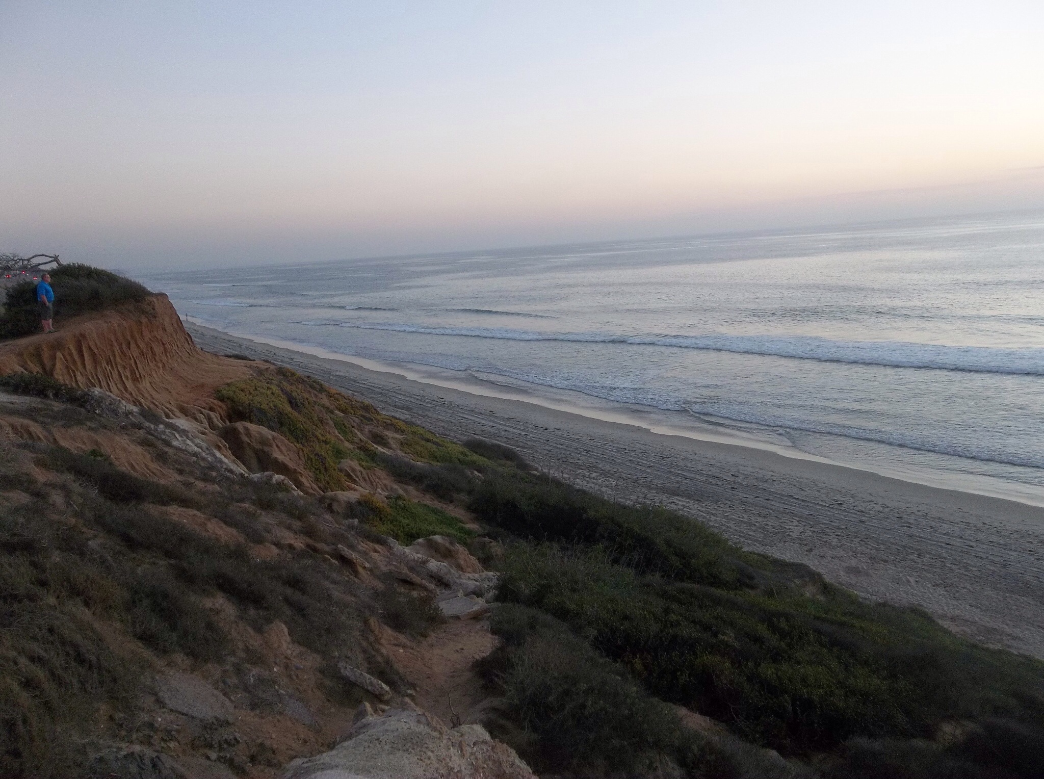 View from Carlsbad cliffs