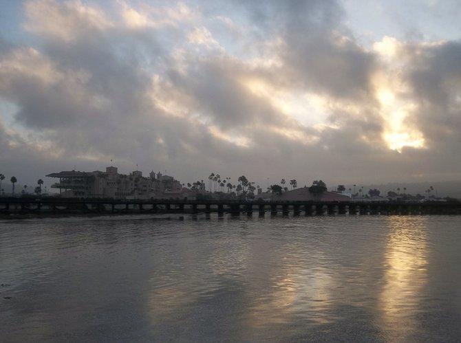 Del Mar Fairgrounds at sunrise