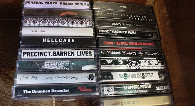 Cassettes are old-school DIY, analog, artful, and all the rage.