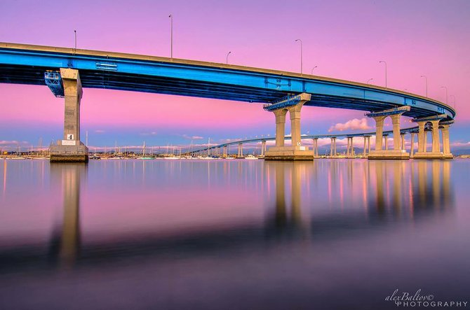Coronado Bridge by Alex Baltov.