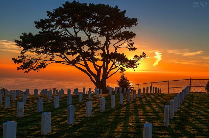 Fort Rosecrans National Cemetery by Kenny Noddin.