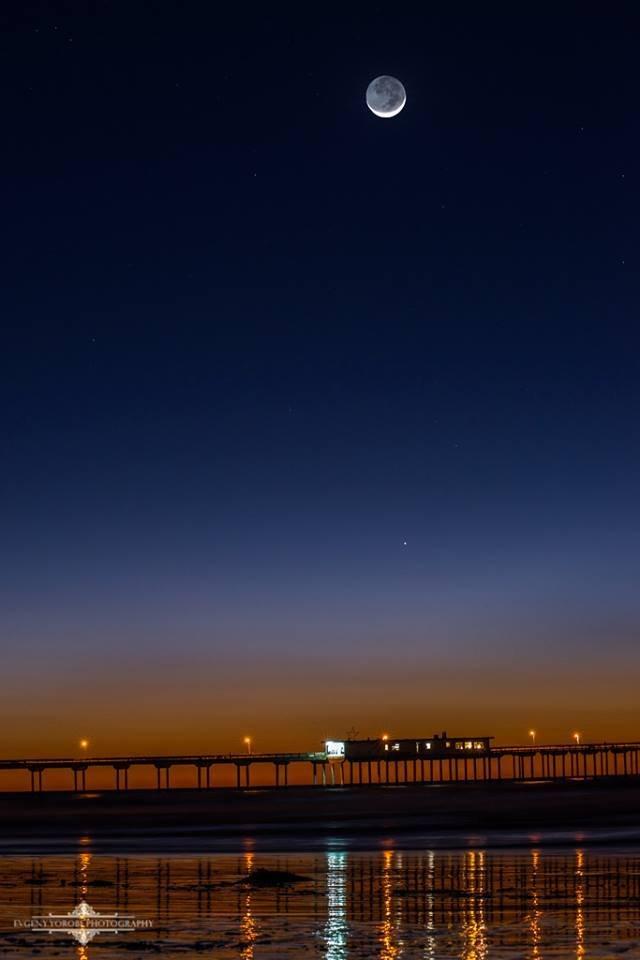 Ocean Beach Pier by Evgeny Yorobe.