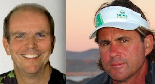 Jim Janney and Serge Dedina