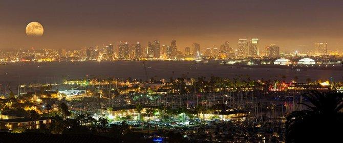 San Diego Skyline by Andrew Shoemaker