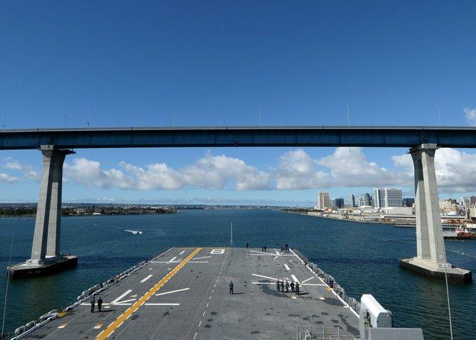 USS Makin Island by Lawrence Davis.
