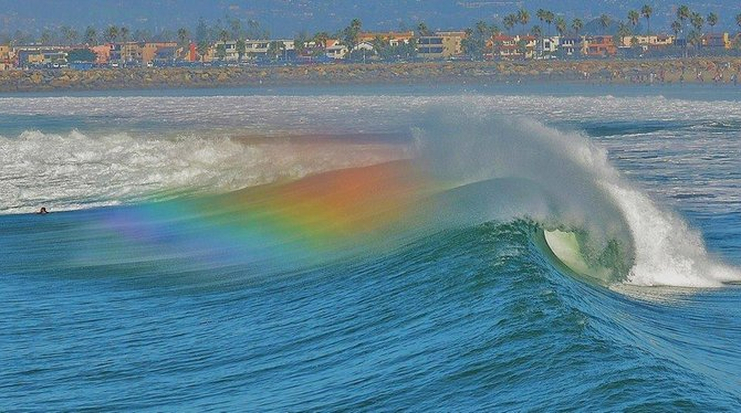 Wavebow by San Diego Scenic Photography.