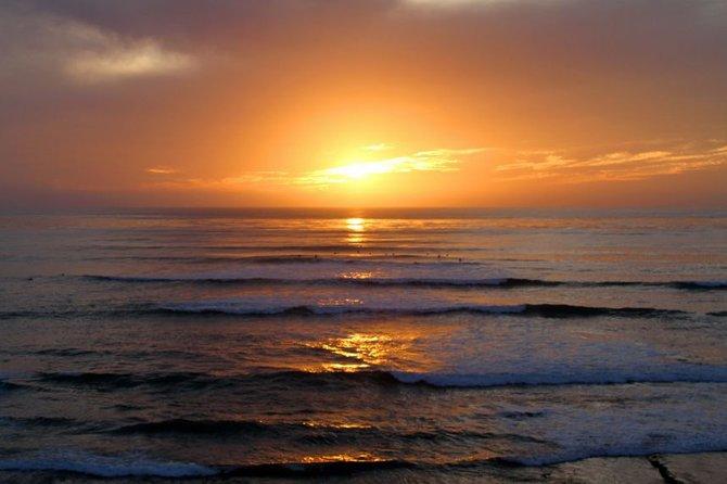 Sunset Cliffs evening surf session. Ocean Beach, CA