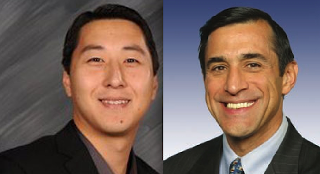 Kurt Bardella and Darrell Issa