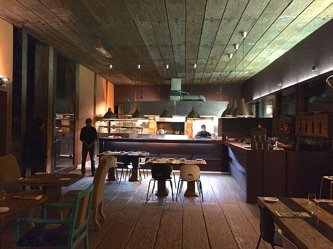 Corazon de Tierra dining room.