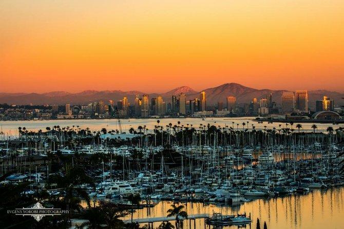 San Diego Skyline & Shelter Island by Evgeny Yorobe.