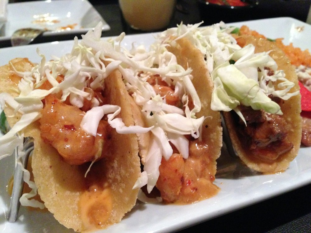 Mini tacos at Juan Chou